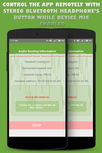bluetooth ear (with voice recording ) screenshot 3