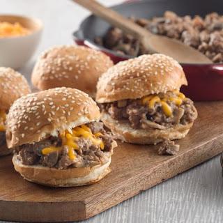 Steakhouse Burger Sloppy Joes.