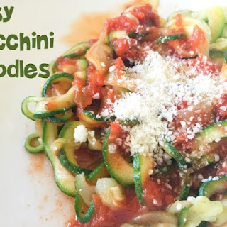 Zucchini Pasta Noodles Recipes