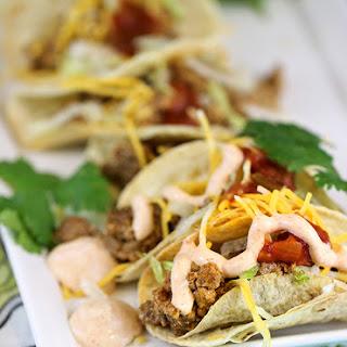 Mini Tacos Made Extra Creamy
