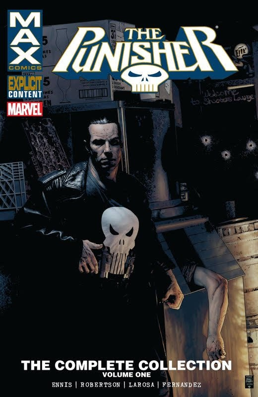 Punisher MAX: The Complete Collection Volume 1-7 (2016)