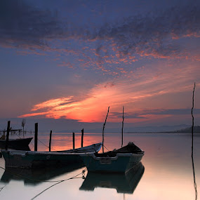 Morning Glory by Abd Rahman - Landscapes Sunsets & Sunrises