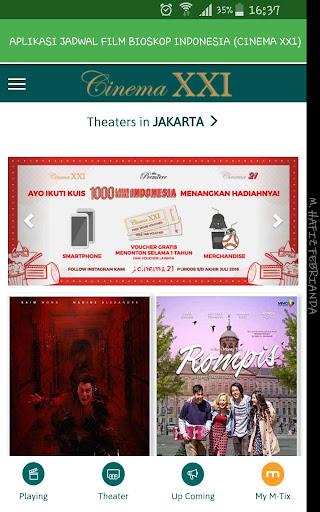 Aplikasi Jadwal Film Bioskop Indonesia 1.0 screenshots 2