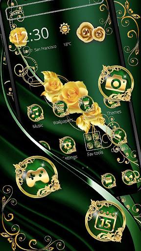 Elegant Green Silk Gold Theme cheat hacks