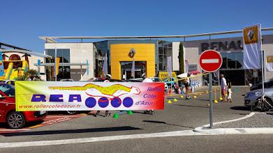 Photo: Samedi 13 et dimanche 14 septembre RCA a participé aux journées de lancement de la nouvelle Renault Twingo à la concession Renault SATAC. Nous étions bien installés juste devant l'entrée, avec bannière, oriflamme, et des ateliers d'initiation - démonstration.