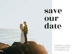 Samantha & Thom's Wedding - Save the Date item