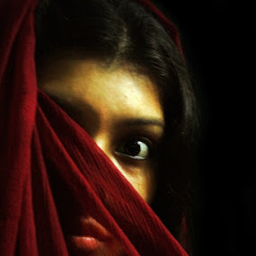 angry eye by Avik Ghosh - People Portraits of Women
