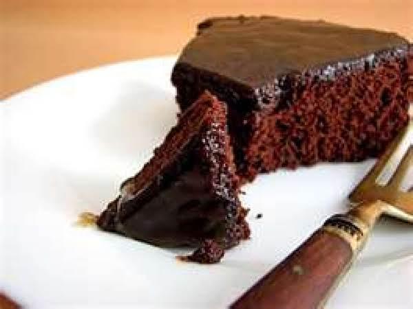 Chocolate Soda Cake With Fudge Frosting