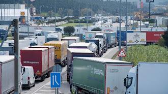 Esta semana se han producido cortes en la frontera entre España y Francia.