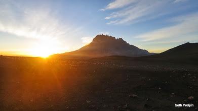 Photo: Sunrise over Mawenzi