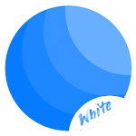 Rim White EMUI 5/8 Theme Icon