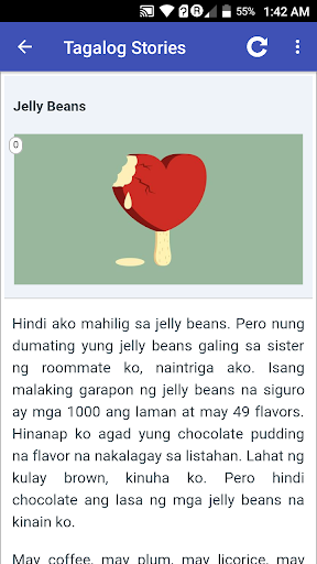 Tagalog Love Stories 2.0.4 screenshots 2