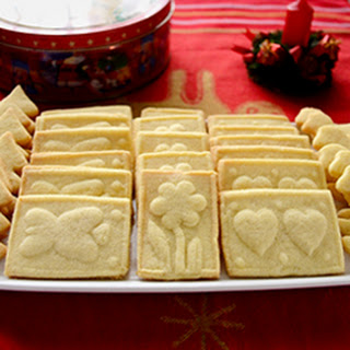 Marzipan Shortbread Cookies Recipe