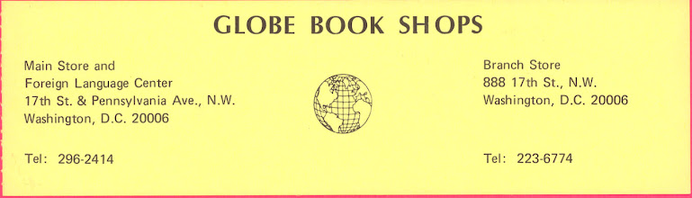 Photo: Globe Book Shops (DC)