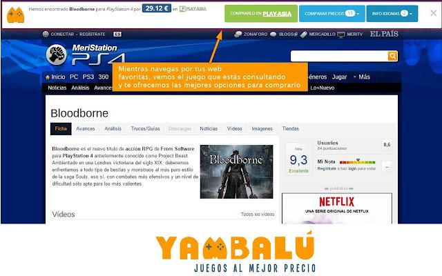 Yambalú - Juegos al mejor precio