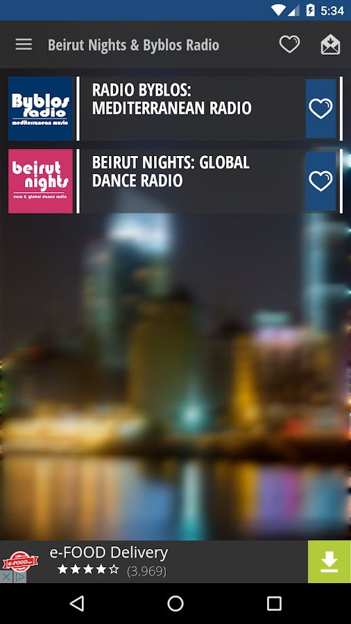 Beirut Nights & Byblos Radio- screenshot