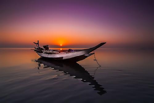 Sunday Morning by Surya Forty-Six - Transportation Boats