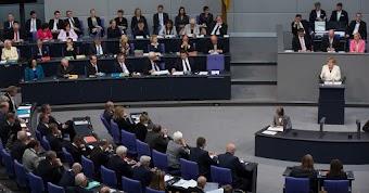 Debatte im Bundestag.