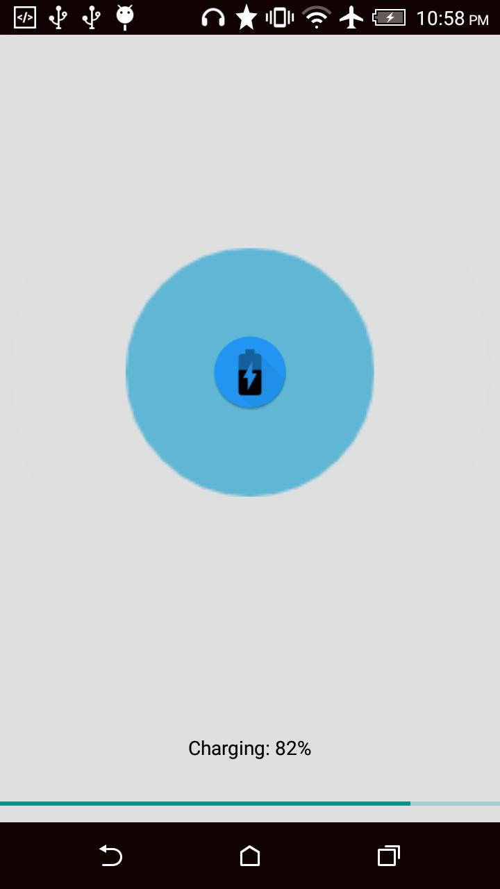 Скриншот Charge Screen