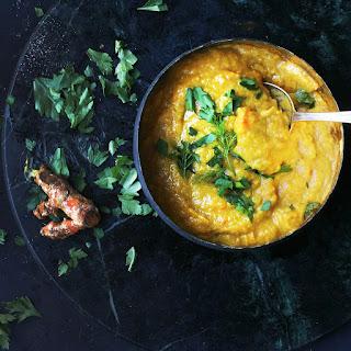 Warming Chicken & Pumpkin Soup.