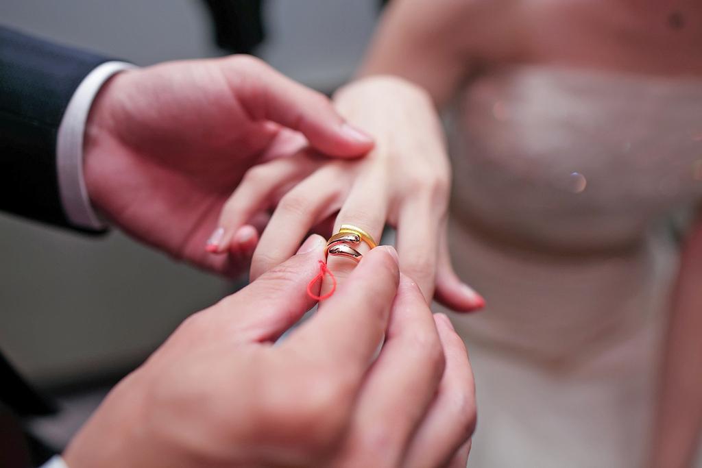 訂婚結婚 婚戒 心幸福 婚禮小物