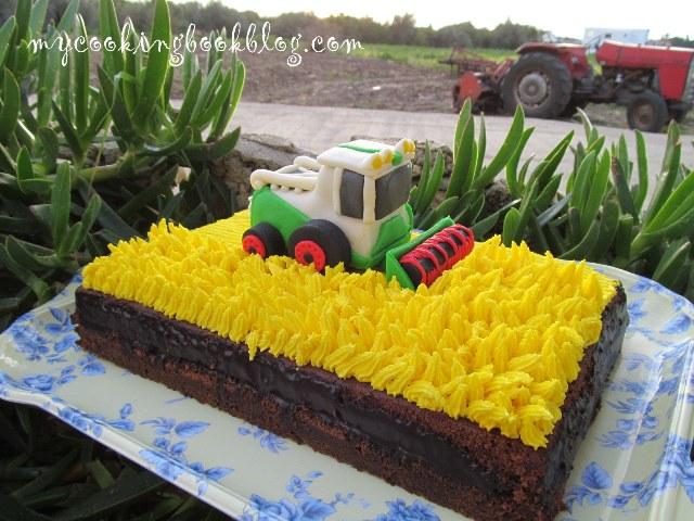 Торта с комбайн