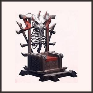骸骨の王座