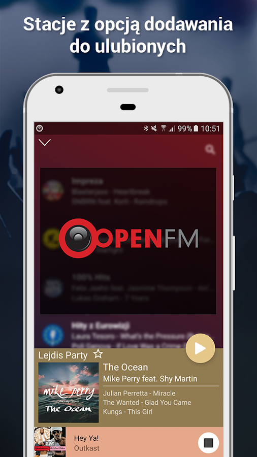 Open FM - radio online- screenshot