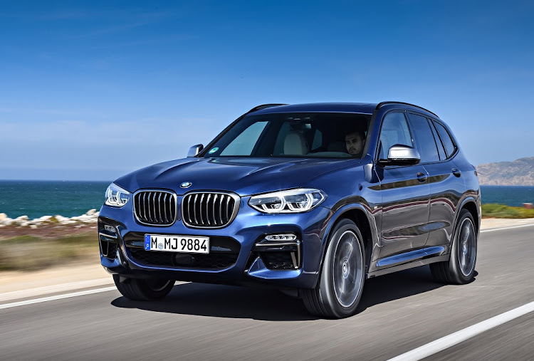 The new X3 gets a more aggressive face than previous versions, especially in M40i guise
