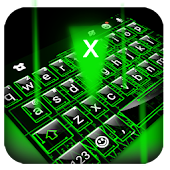 Digital Tech Keyboard Theme