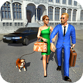 Millionaire Couple: Family lifestyle Games