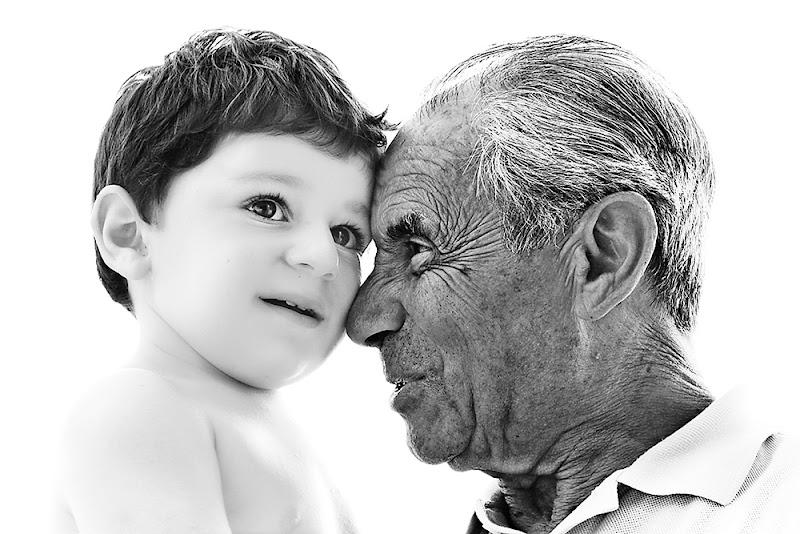 Nonno e nipotino di prometeo