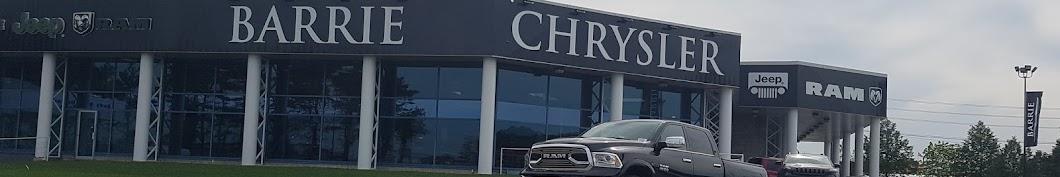 Barrie Chrysler Dodge Jeep Ram Banner