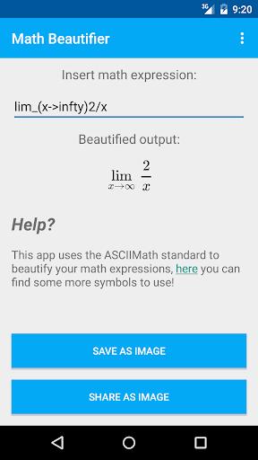 Math Beautifier