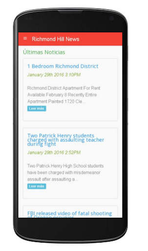 Richmond Hill News 1.0 screenshots 1