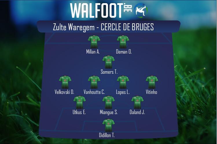 Cercle de Bruges (Zulte Waregem - Cercle de Bruges)