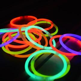 Rings by Ram Verma - Digital Art Things ( rings, beach, circle, colors, lights )