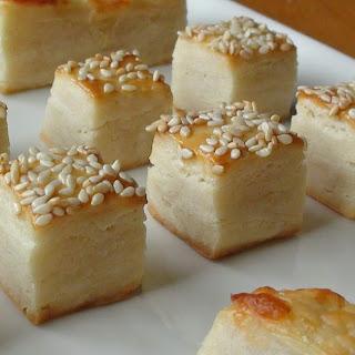 Tiny Salty Tea Biscuits