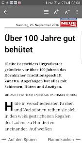 NEUE Vorarlberger Tageszeitung screenshot 4