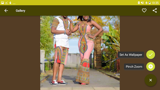 African Couple Fashion Style for PC