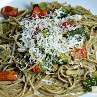 Pesto and Vegetable Pasta