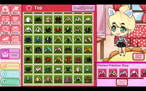 My Pretty Girl Story : Dress Up Game screenshots 15
