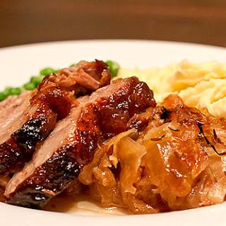 Roast Pork and Sauerkraut.