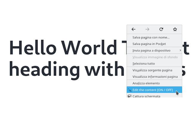 Puentify - Edit Page Content