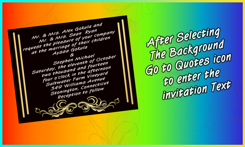 Wedding Invitation Cards maker Android Apps on Google Play – Creating Invitation Cards