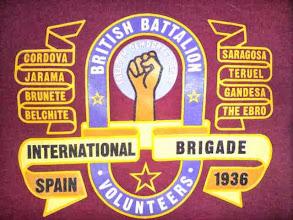 """Photo: Insignia de Brigadistas Británicos. Hay información abundante en la entrada de Wikipedia de """"Brigadas Internacionales"""".http://es.wikipedia.org/wiki/Brigadas_Internacionales"""