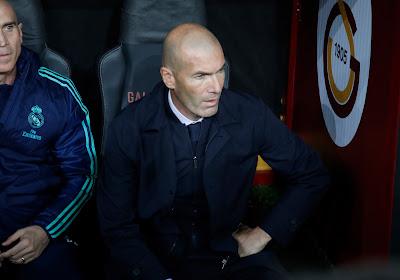 Drôle d'échange entre Zidane et l'un de ses joueurs (Vidéo)