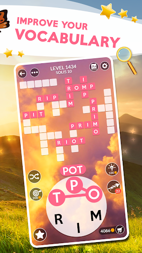 Screenshot for Wordscapes in United States Play Store