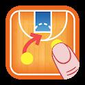 Coach Tactic Board: Basketball icon