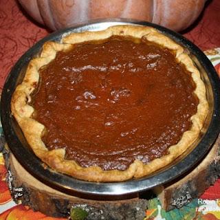 Rustic Pumpkin Pie